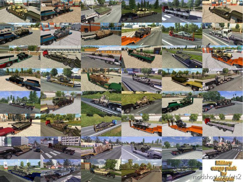 Military Cargo Pack V4.0 (1.36.X) for Euro Truck Simulator 2