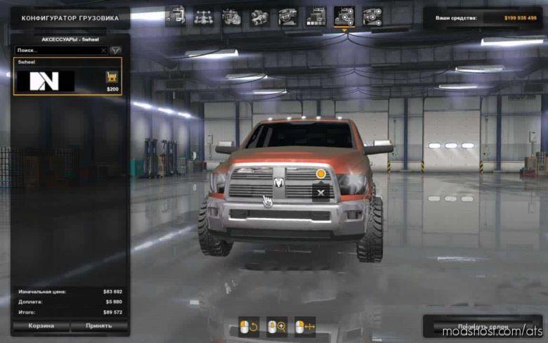 Dodge RAM 2500 Beta for American Truck Simulator