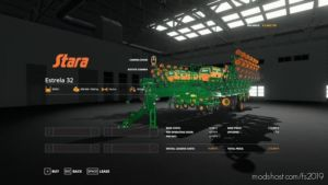 Stara Estrela 32 for Farming Simulator 2019