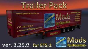 Trailer Pack By Omenman V3.25.0 for Euro Truck Simulator 2