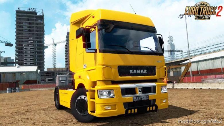 Kamaz 5490 NEO/65206 V1.2 (1.36.X) for Euro Truck Simulator 2
