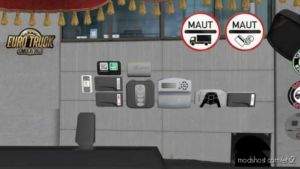 Electronic Devices For Toll For ALL Europe In ALL Trucks [1.36.X] for Euro Truck Simulator 2