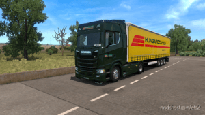 Hungarocamion Scania Skin Pack for Euro Truck Simulator 2