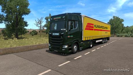 Hungarocamion Scania Skin Pack for Euro Truck Simulator 2