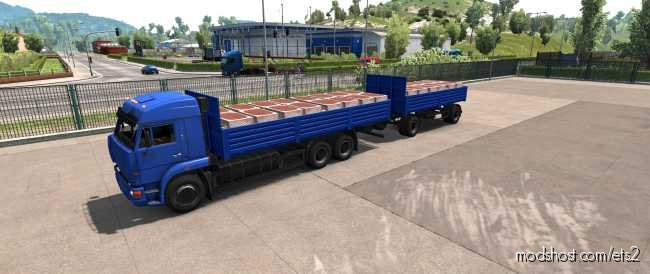 Trailer Nefaz 8332 [1.36.X] for Euro Truck Simulator 2