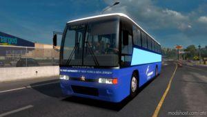 Port Authority Of NY & NJ (Marcopolo Viaggio 1000 Skin) for American Truck Simulator