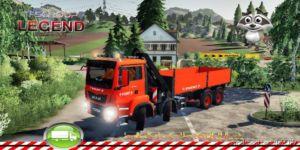 MAN TGS 8X4 Hiab V1.5 for Farming Simulator 2019