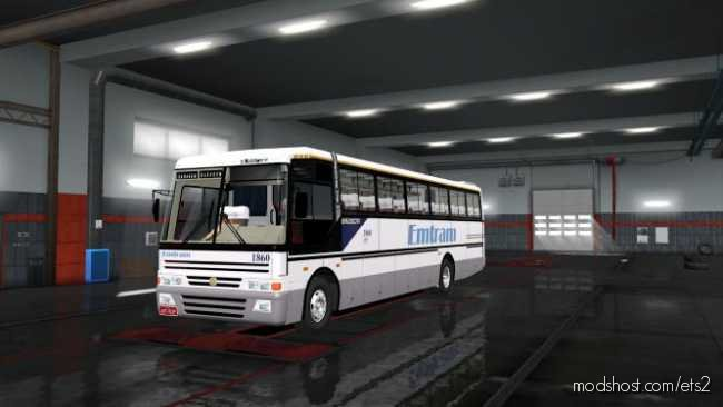 Busscar EL Buss 340 Scania S113CL [1.36.X] for Euro Truck Simulator 2