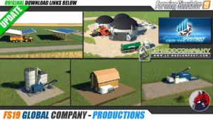 Global Company for Farming Simulator 2019