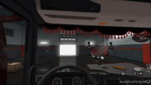 Dashboard Camera ON Glass [1.36.X] for Euro Truck Simulator 2