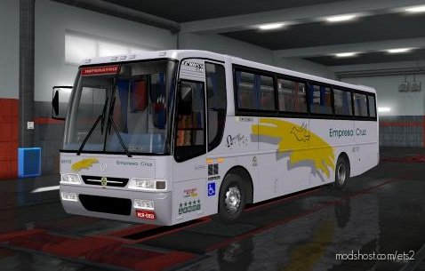 Mercedes-Benz OF-1721 Busscar EL Buss 340 [1.36.X] for Euro Truck Simulator 2