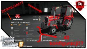 Massey Ferguson Polish Pack for Farming Simulator 2019