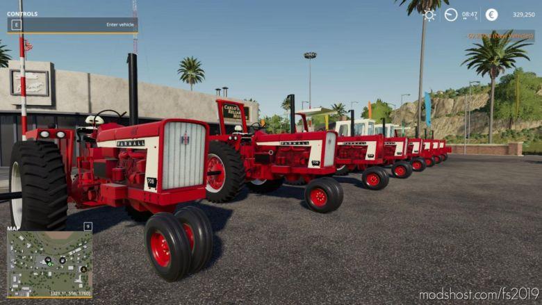 Farmall 806 V1.1 for Farming Simulator 2019