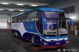 Marcopolo G6 – 1200 Mercedes V2.1 for Euro Truck Simulator 2