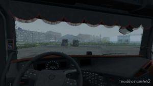 Volvo FH 2012 Black & Amber Interior [1.36] for Euro Truck Simulator 2