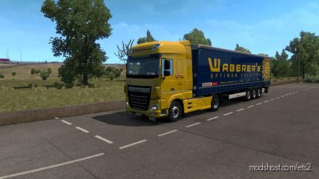 Waberer's Combo Skin Update for Euro Truck Simulator 2