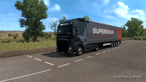 Volvo Supernova Combo Skin for Euro Truck Simulator 2