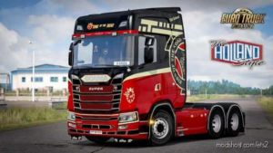 Scania Next GEN S Skin Pack By Wolf [1.36.X] for Euro Truck Simulator 2