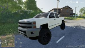 2016 Chevy 2500HD for Farming Simulator 2019