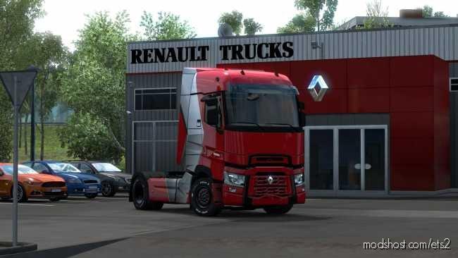 Renault T Range Tourmaline Limited Edition Skin [1.36.X] for Euro Truck Simulator 2