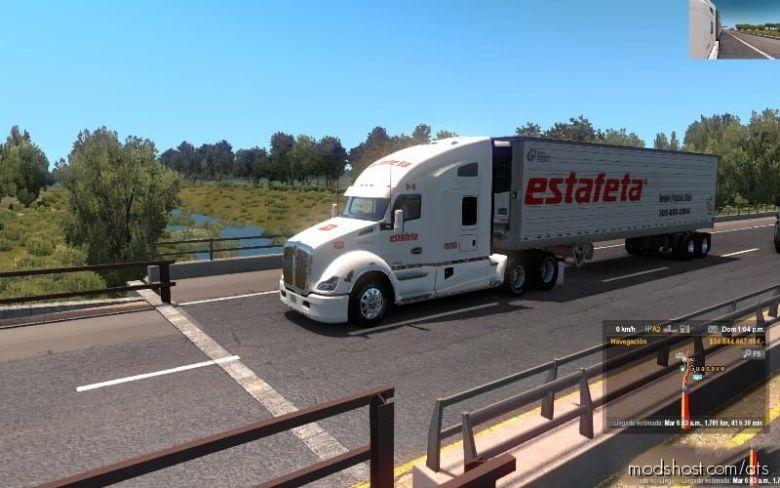Combo Estafeta T680 Y Caja for American Truck Simulator