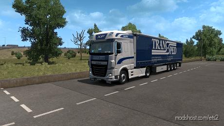 Trans-Sped Skin for Euro Truck Simulator 2