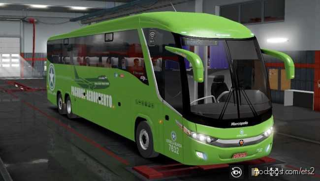 BUS G7 1200 Mexico Facelift V2.5 for Euro Truck Simulator 2