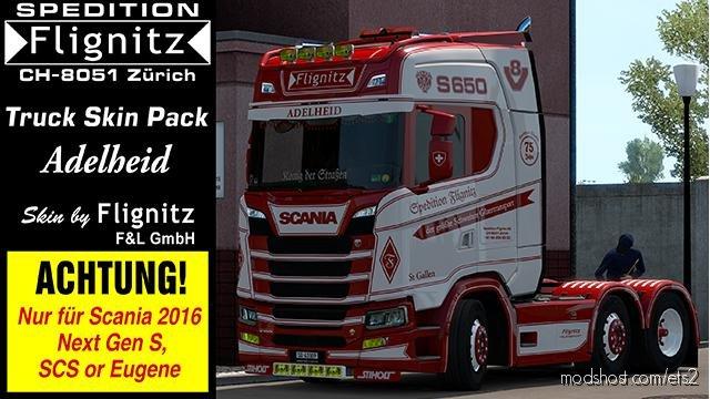 Flignitz Adelheid Skin for Euro Truck Simulator 2