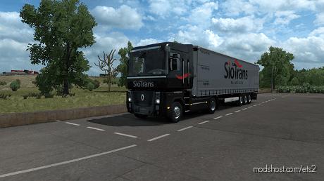 Siótrans Renualt Magnum Combo Skin for Euro Truck Simulator 2