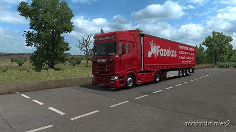 Fazekas Insped Skin Pack for Euro Truck Simulator 2