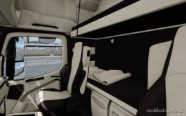 Mercedes Benz MP4 CMI Beige Brown Interior for Euro Truck Simulator 2