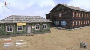 """Barracks From The """"Village"""" Map V2 for MudRunner"""