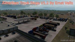 American Truck Stops V1.2 for American Truck Simulator