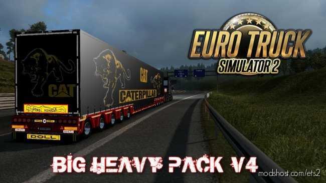 BIG Heavy Pack V4 [1.36] for Euro Truck Simulator 2