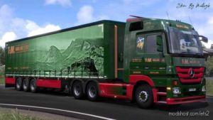 T&M Haulage LTD Combo Skin for Euro Truck Simulator 2