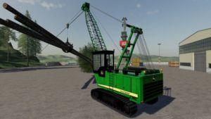 John Deere Grapple Yarder v1.0 for Farming Simulator 2019