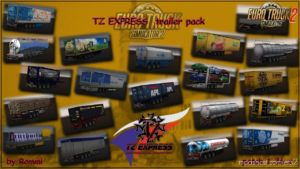 Express Trailers Pack + Ownable Package By Rommi TZ (1.36.X) for Euro Truck Simulator 2