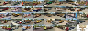 Trailers And Cargo Pack V8.3 (1.36.X) for Euro Truck Simulator 2