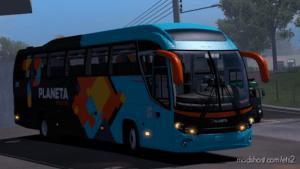 BUS Mercedes-Benz Mascarello Roma R8 V1.1 for Euro Truck Simulator 2