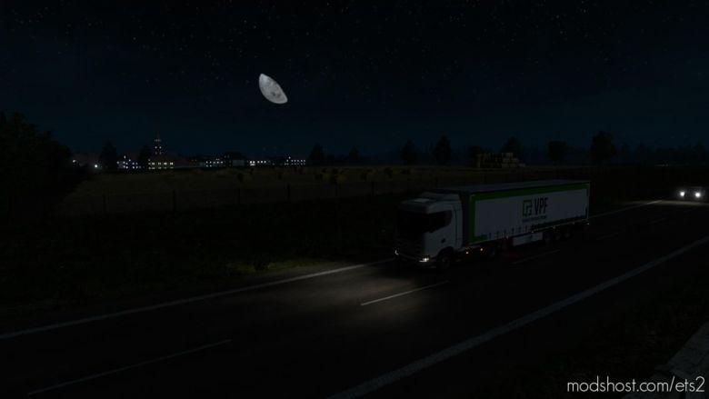 Realistic Night Skies [1.36] for Euro Truck Simulator 2