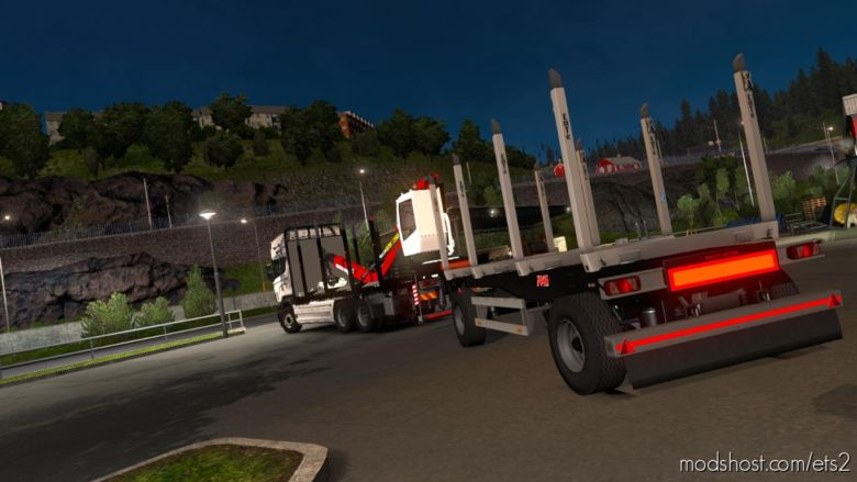 Scania R RJL Rigid Forest Parts [1.36.X] for Euro Truck Simulator 2
