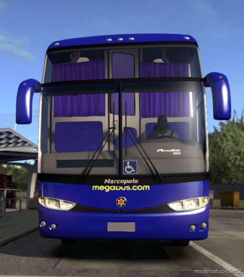 Mercedes G6 -1200 & Megabus Skin [1.36.X] for Euro Truck Simulator 2