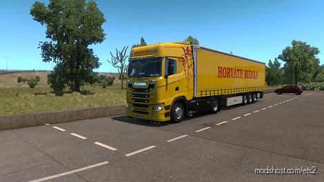 Horváth Rudulf Skin Pack for Euro Truck Simulator 2