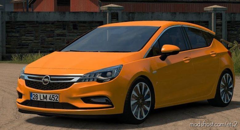 Opel Astra K V1.1 (1.36.X) for Euro Truck Simulator 2