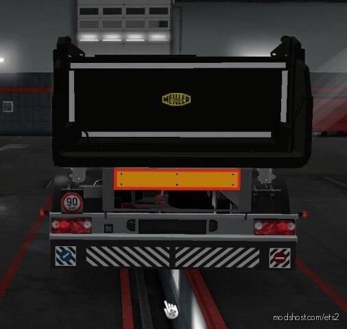 Kipper Trailer By Mistersix [1.36.X] for Euro Truck Simulator 2