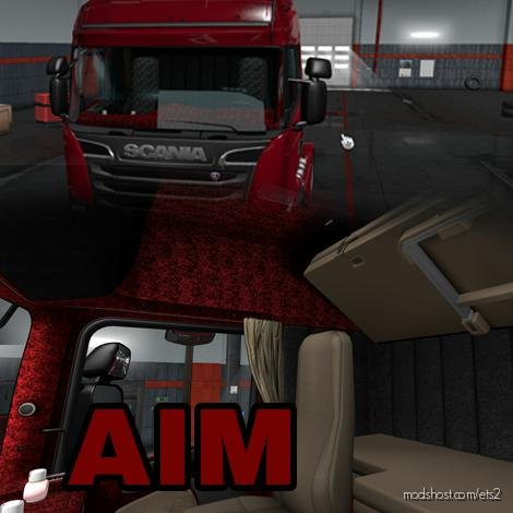 Scania RJL Interior By AIM [1.36.X] for Euro Truck Simulator 2
