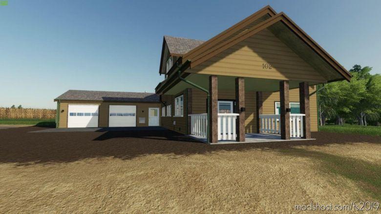 Lone OAK House V2.0 for Farming Simulator 2019