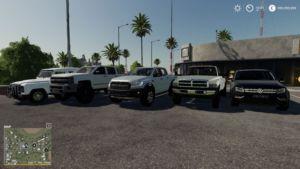 Pickup Trucks Pack By Josha for Farming Simulator 2019