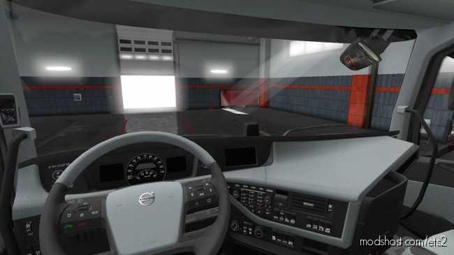 Interior For Volvo FH 2012 for Euro Truck Simulator 2