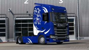Dragicevic Style Skin For Scania S for Euro Truck Simulator 2